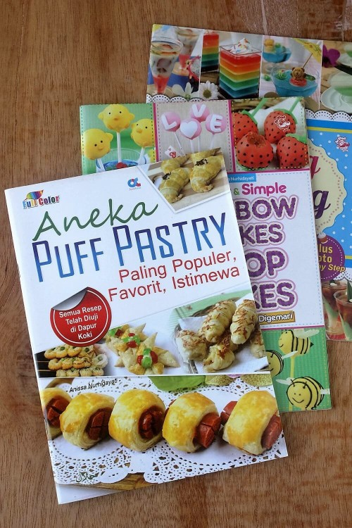 buku resep puff pastry